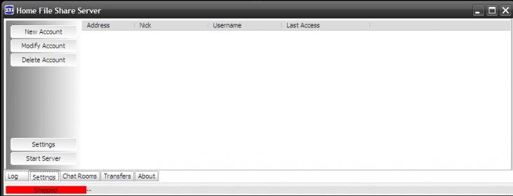 Home File Share Server Download - Web server intended for