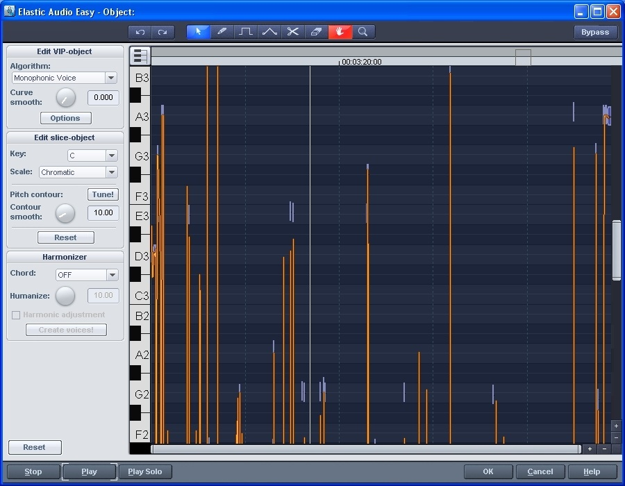 Elastic Audio Editor