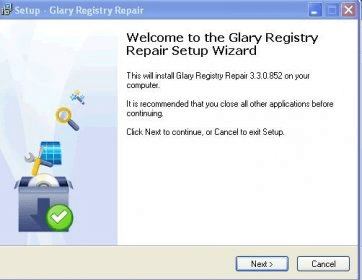 glarysoft registry repair download