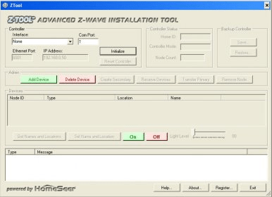 ZTool - Software Informer  Simplify your PC-based Z-Wave