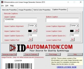 IDAutomation com Barcode Image Generator 2013 1 Download (Free trial