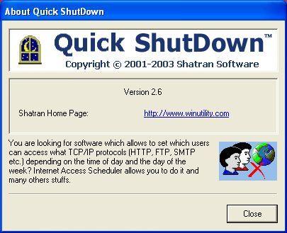 About Quick ShutDown