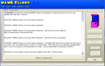 mame exe windows 7