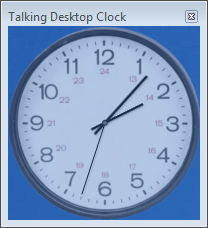 The Desktop Clock