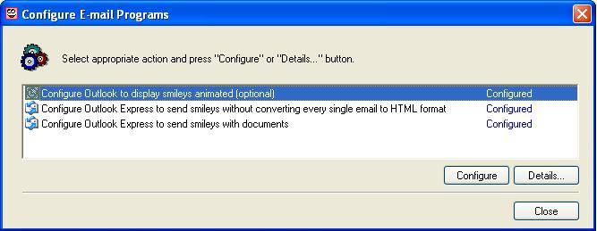 Mail Configuration