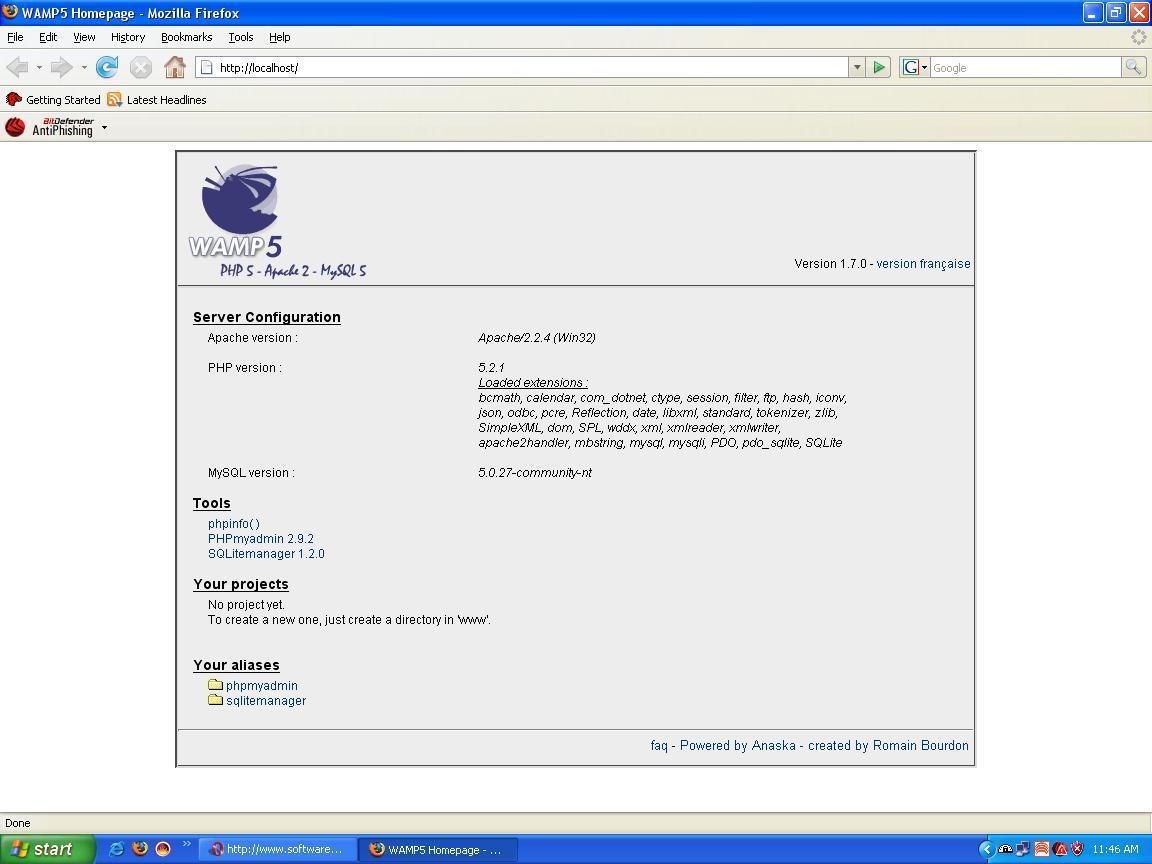 WAMP5 1.4.4 TÉLÉCHARGER