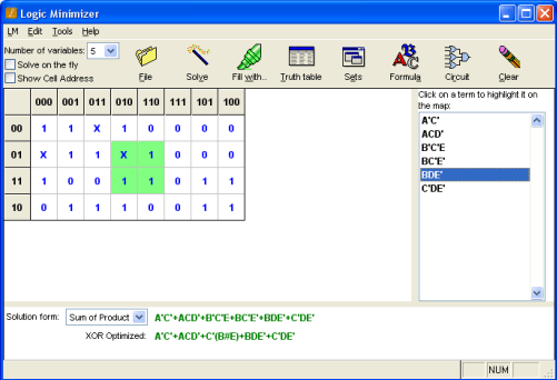 """Logic Minimizer. Get the safe and easy. on digital map, central park map, de morgan's laws, 4x4 k map, truth table, circuit minimization, binary decision diagram, prime implicants k map, logical disjunction, combinational logic, exclusive or, 5"""" variable k map, 4 input k map, full adder k map, bitwise operation, seven segment display k map, boolean expression, xor k map, boolean logic, sheffer stroke, digital timing diagram, boolean function, logical conjunction, boolean algebra, canonical form, absorption law,"""