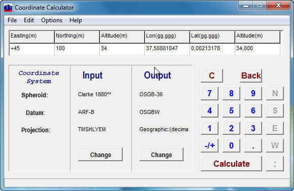 Coordinate Calculator  Get the software safe and easy