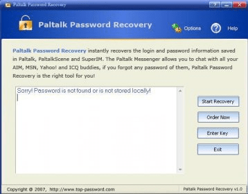 Paltalk Password Recovery 1 1 Download - Paltalk Password