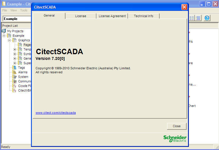 CitectSCADA 7 2 Download (Free trial) - Citect32 exe