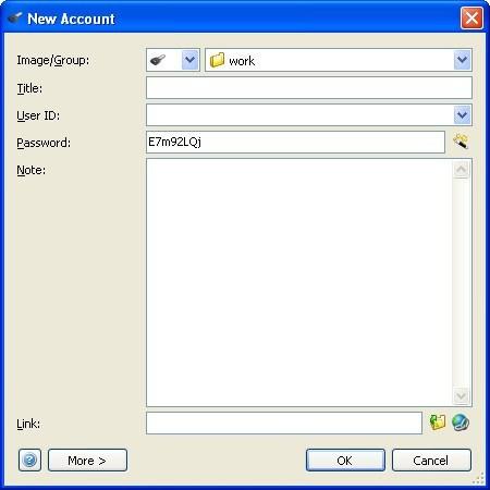 Creating New Account