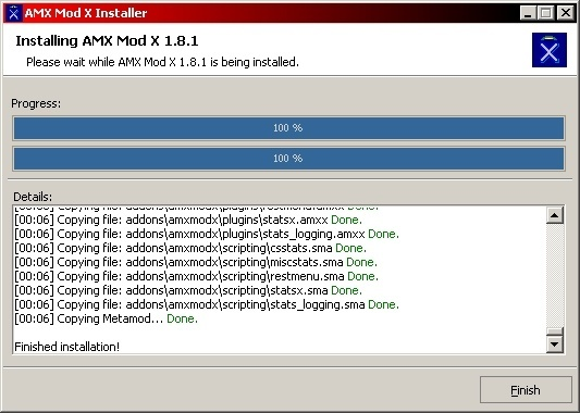 AMX Mod X 1 8 Download (Free) - Installer exe