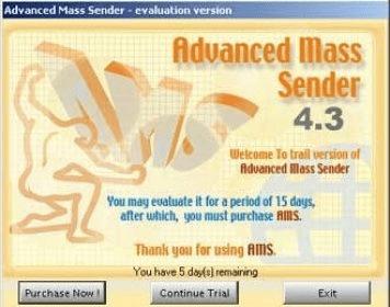 download advanced mass sender 4.3 free trial