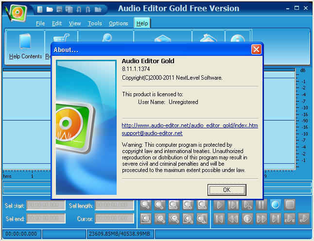 audio editor gold 9.2 19.1 free download with key
