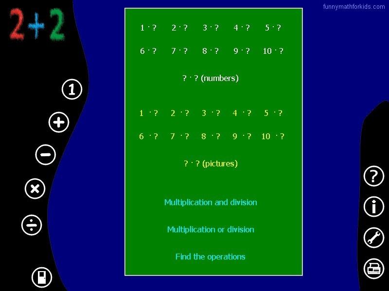 Multiplication window