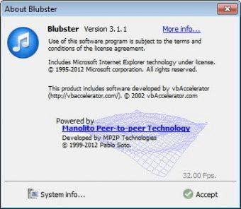 Download blubster 4. 0. 4.