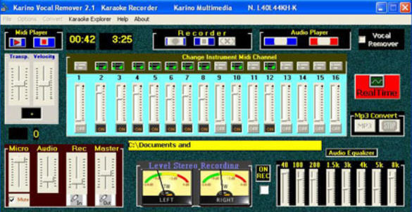 KARINO VOCAL REMOVER  Get the software safe and easy