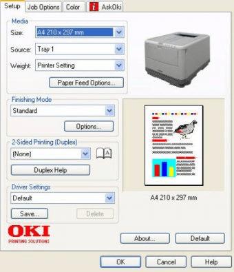 oki c3450 driver windows 7
