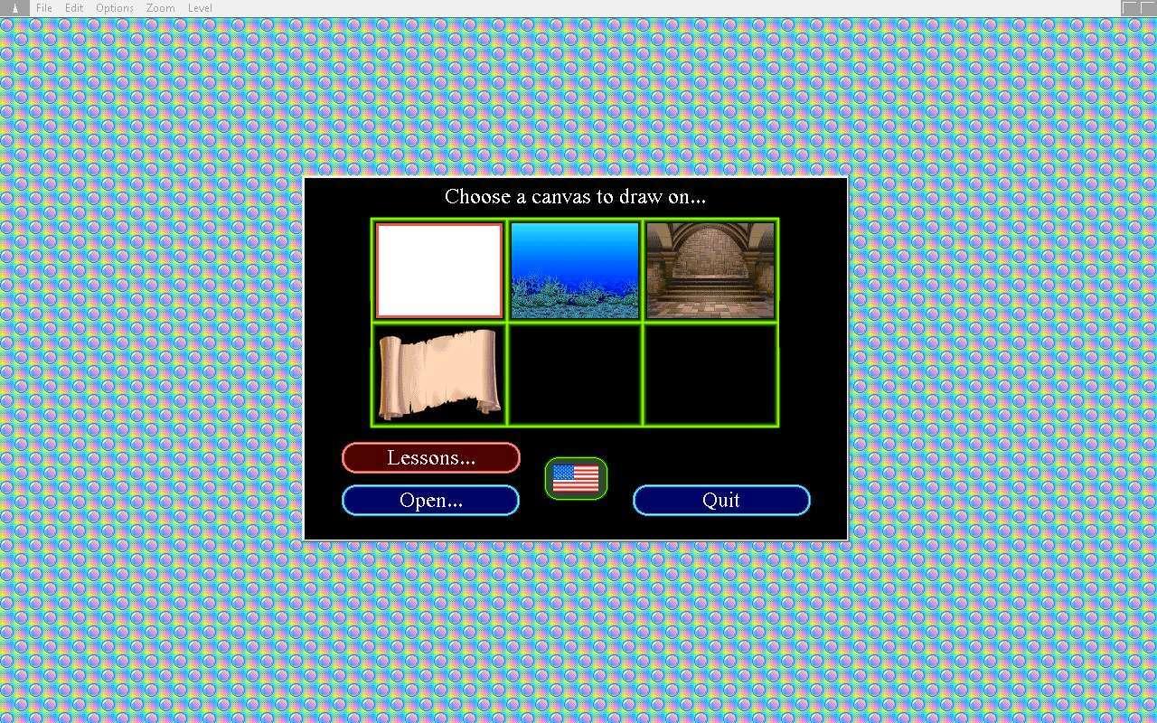 Select a canvas