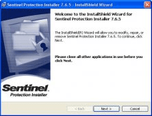 sentinel protection installer 7.6.6 gratuit