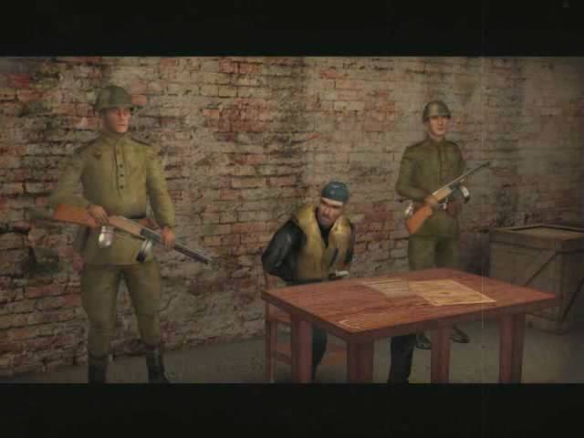 Enjoy great cutscenes between missions