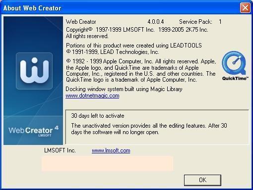About Web Creator
