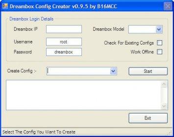 Dreambox Config Creator Download - Addition of new splash