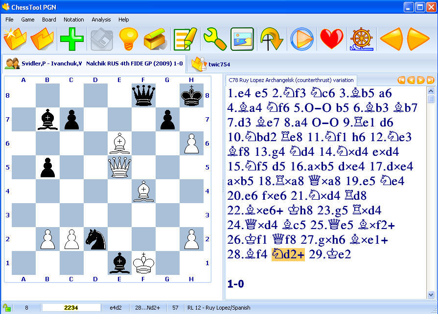ChessTool PGN 1 4 Download (Free) - ChessToolPGN exe