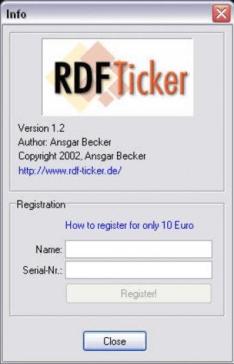 rdf ticker