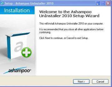 Ashampoo UnInstaller 2010 Download (Uninstaller exe)