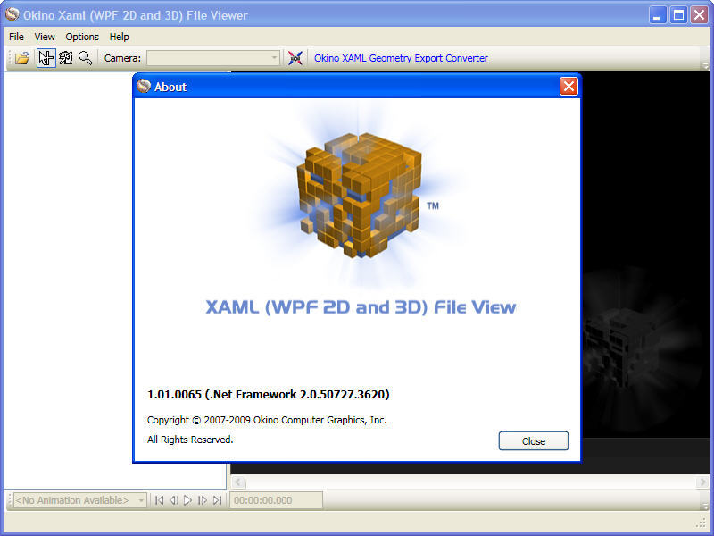 Okino XAML Viewer (32-bit) Download - Support for these container