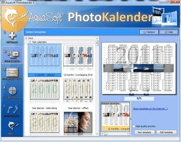 aquasoft photokalender