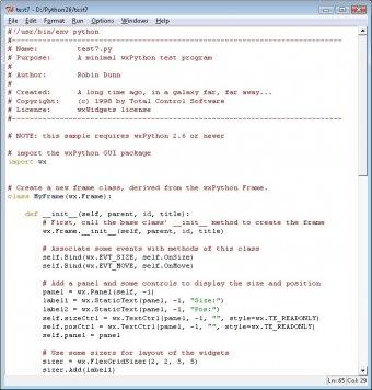 wxPython (unicode) for Python 2 8 Download (Free) - python exe
