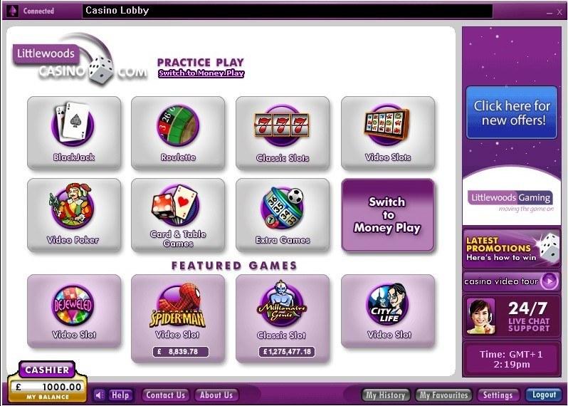 Littlewoods casino download casino security officer jobs in las vegas