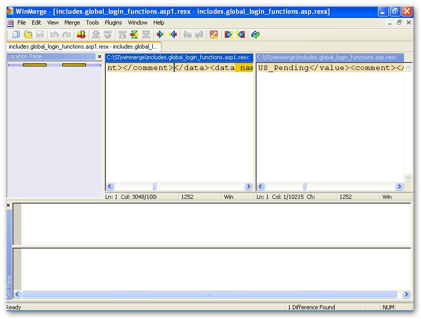 WinMerge 2 8 Download (Free) - WinMergeU exe
