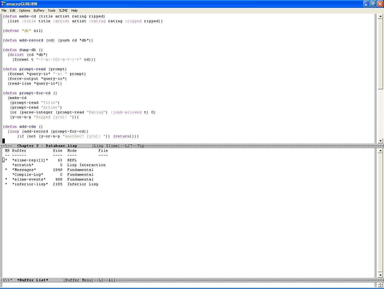 Simple Database