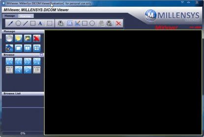 Millentech DICOM Viewer 6 9 Download (Free) - mdcmview exe