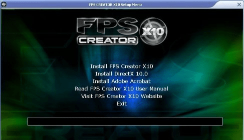 FPS Creator X10 1 0 Download (Free trial) - FPSCreator exe