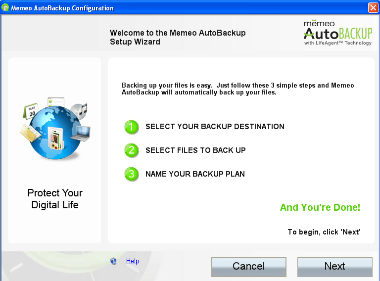 Memeo AutoBackup - Software Informer  Memeo AutoBackup 3 0