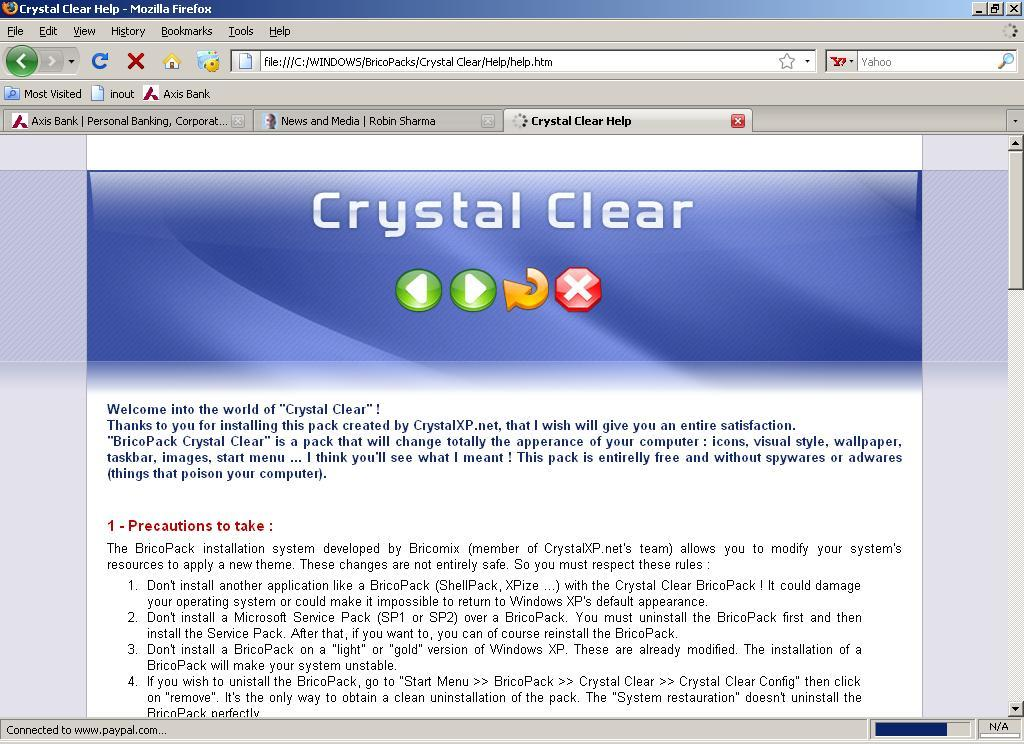 Pack Crystal Clear 1 0 Download (Free) - Pack Crystal Clear