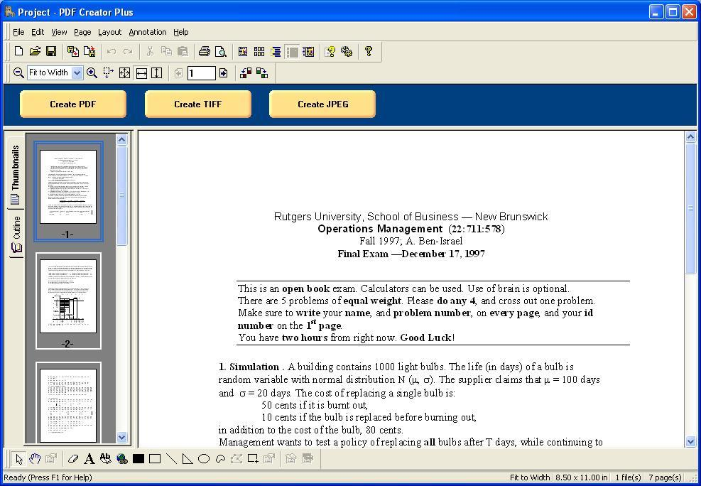 PDF Creator Plus  Get the software safe and easy