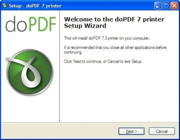 doPDF printer 7 0 Download - dopdf exe