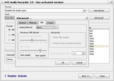 avs audio recorder 3.9.1.89