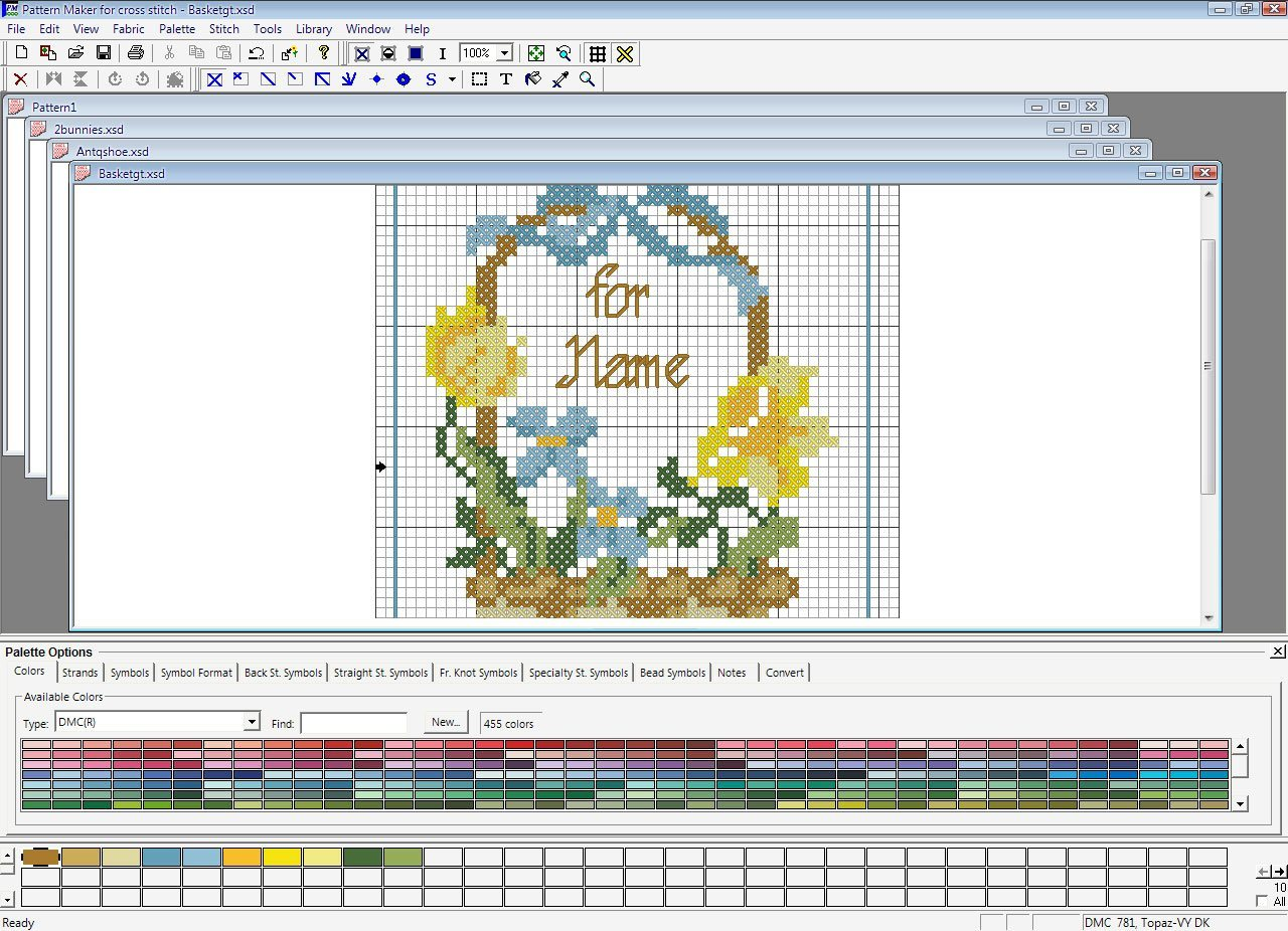 Pattern Maker For Cross Stitch 4 0 Download Free Trial Pmaker Exe