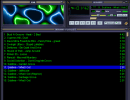 Winamp Main Window, With playlist and AVS