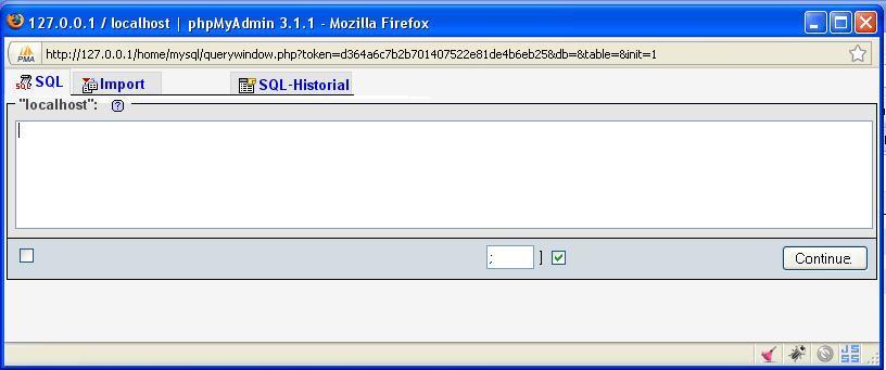 Query analizer for MySQL