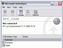 ActiveSync Main Screen