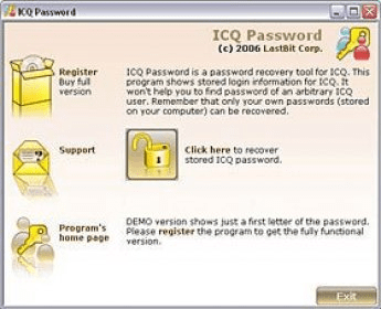 ICQ Password Download - It is used to recover lost or forgotten