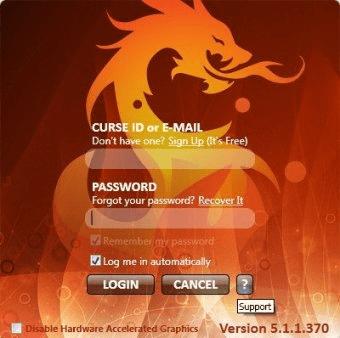 Curse Client 4 0 Download (Free) - client exe