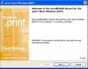 ThinPrint RDP Engine - Software Informer  ThinPrint  print
